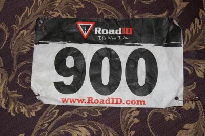 Road ID Bib