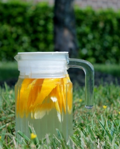 Orange Lemon Water